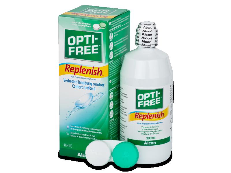 OPTI-FREE RepleniSH šķīdums 300ml