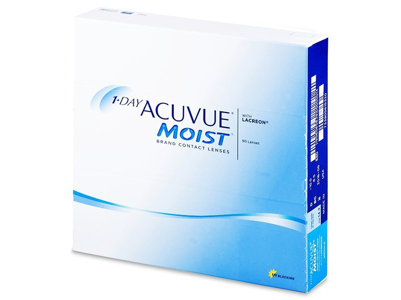 1 Day Acuvue Moist (90 lēcas)
