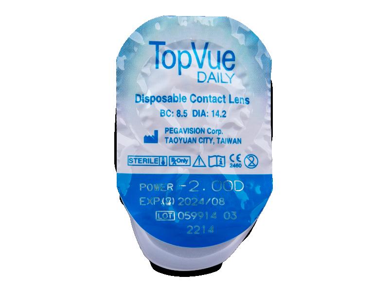 TopVue Daily (30lēcas)