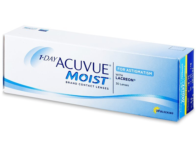 1 Day Acuvue Moist for Astigmatism (30 lēcas)