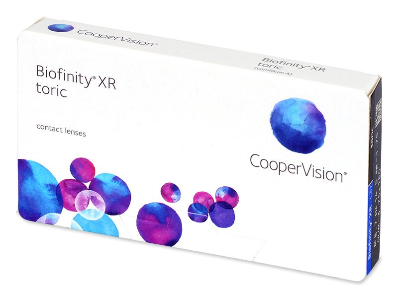 Biofinity XR Toric (3 lēcas)