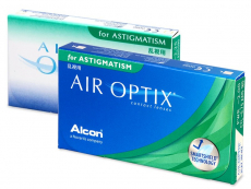 Air Optix for Astigmatism (6 lēcas)