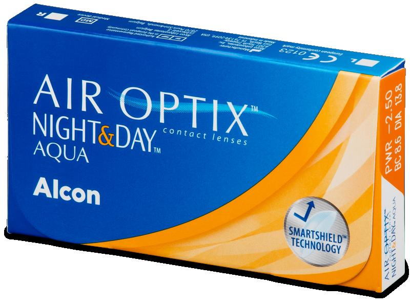 Air Optix Night and Day Aqua (6lēcas)