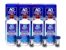 AO SEPT PLUS HydraGlyde šķīdums 4 x 360 ml